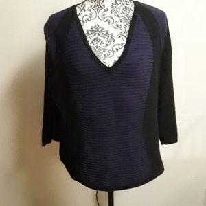 Lane Bryant Purple/Black Sweater
